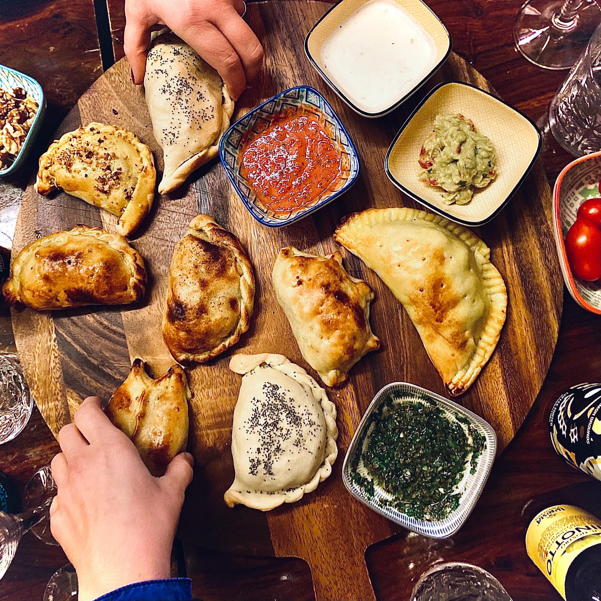 empanadas sans gluten en Argentine